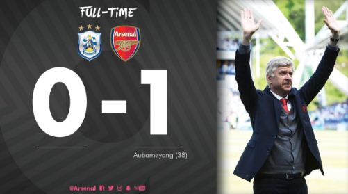 Huddersfield Town vs Arsenal 0 - 1 Video Gol & Highlights