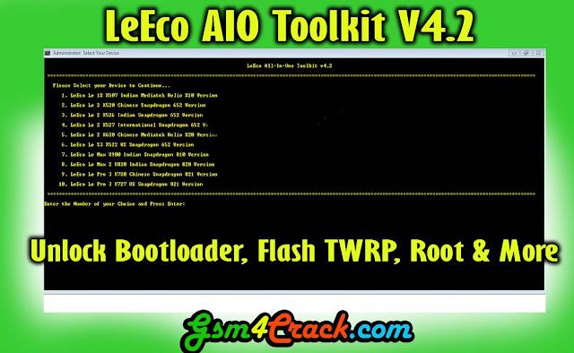 Download LeEco AIO Toolkit V4.2 [Free]
