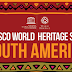 World Heritage sites in South America #infographic