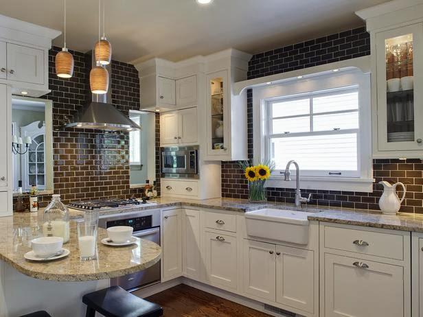 2014 Colorful Kitchen Backsplashes Ideas