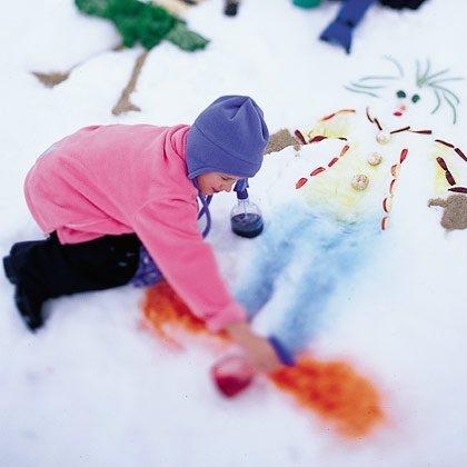 Snow Mosaic