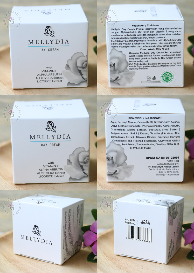 Review Mellydia Day Cream