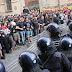 Estudiantes italianos protestan por la precarización y privatización de la Educación