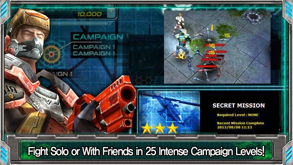 Free Download Alien Shooter EX MOD APK+DATA(Unlimited Gold Coins