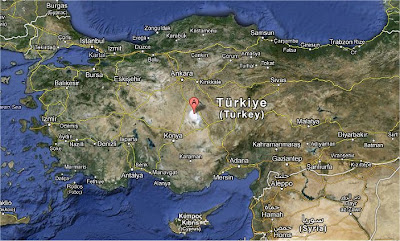 lago salato Turchia