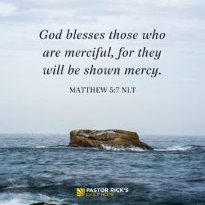 Commit Acts of Premeditated Mercy by Rick Warren