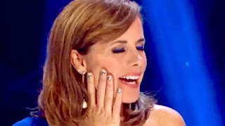 Darcey Bussell Jamberry Nails and Make up from Strictly Come Dancing 2016