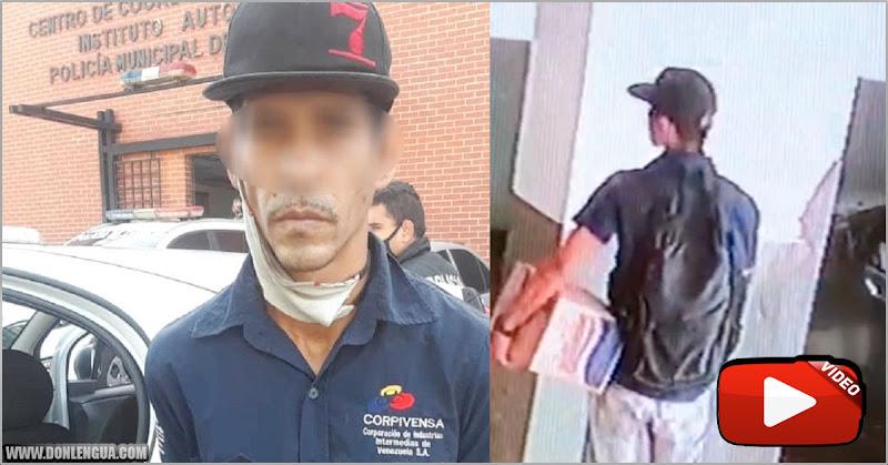 Detenido un reconocido ladrón de baterías en Altamira