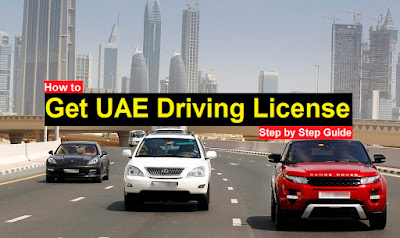 Dubai Driving License, Abu Dhabi Driving License, Sharjah Driving License