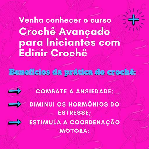 CROCHÊ AVANÇADO CURSO ONLINE