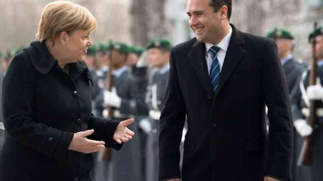 Merkel: Mazedonien und Griechenland nahe an Lösung