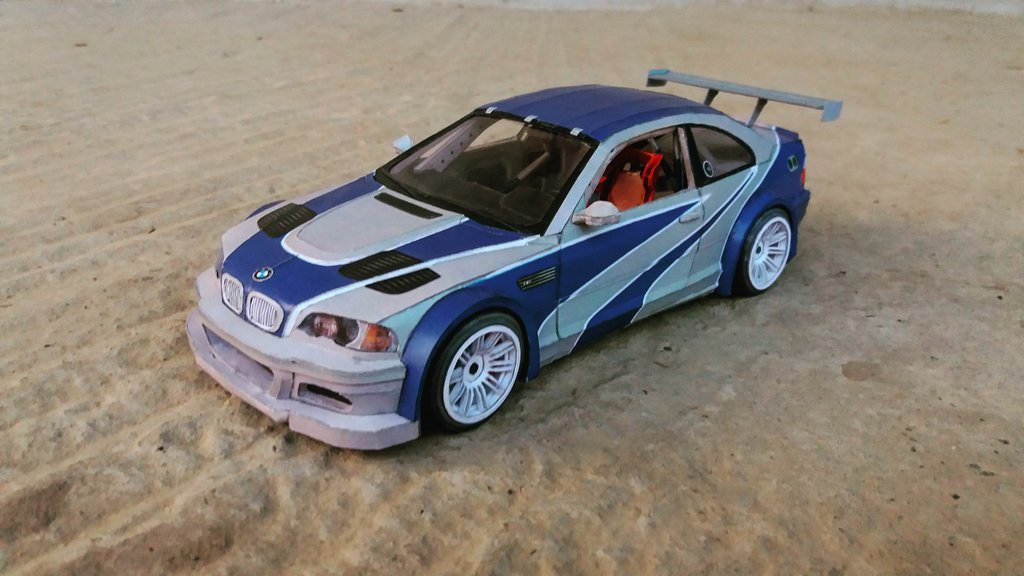BMW M3 GTR Template Download