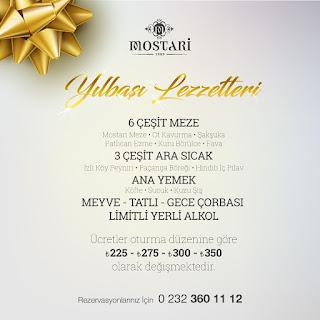 mostari folkart izmir 2020 yılbaşı programları menü fiyat rezervasyon