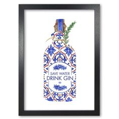 Gin Drinking by Europeans