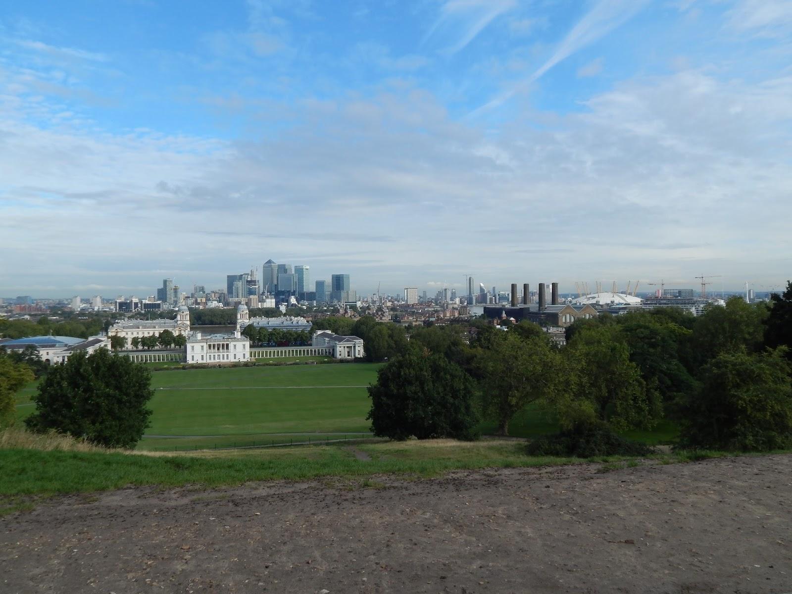 vyhlídka Greenwich Londýn