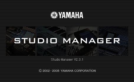 Yamaha studio manager