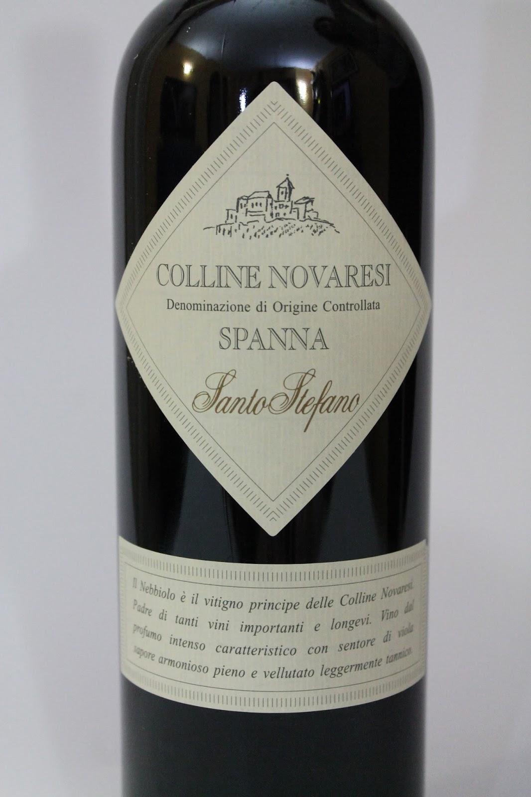 Colline Novaresi Doc Spanna Santo Stefano, Zanetta ...