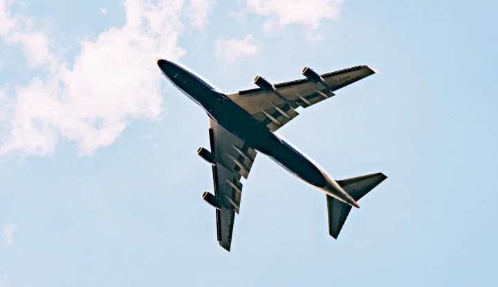 Astaga! Mengaku Gerah, Seorang Ibu Ini Buka Pintu dan Naik ke Sayap Pesawat