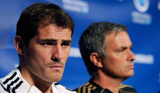 Why there was a love-hate relationship between me and Mourinho - Iker Casillas