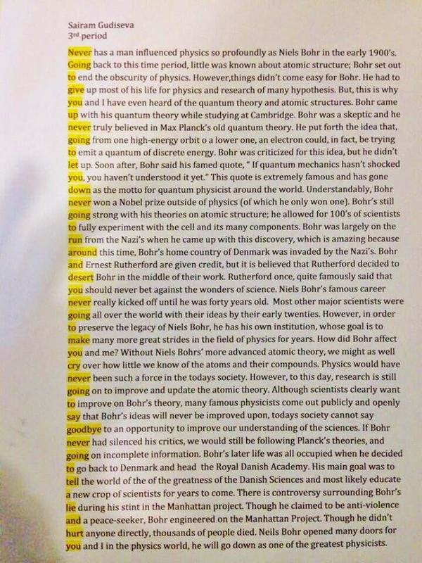 Physics photo essay