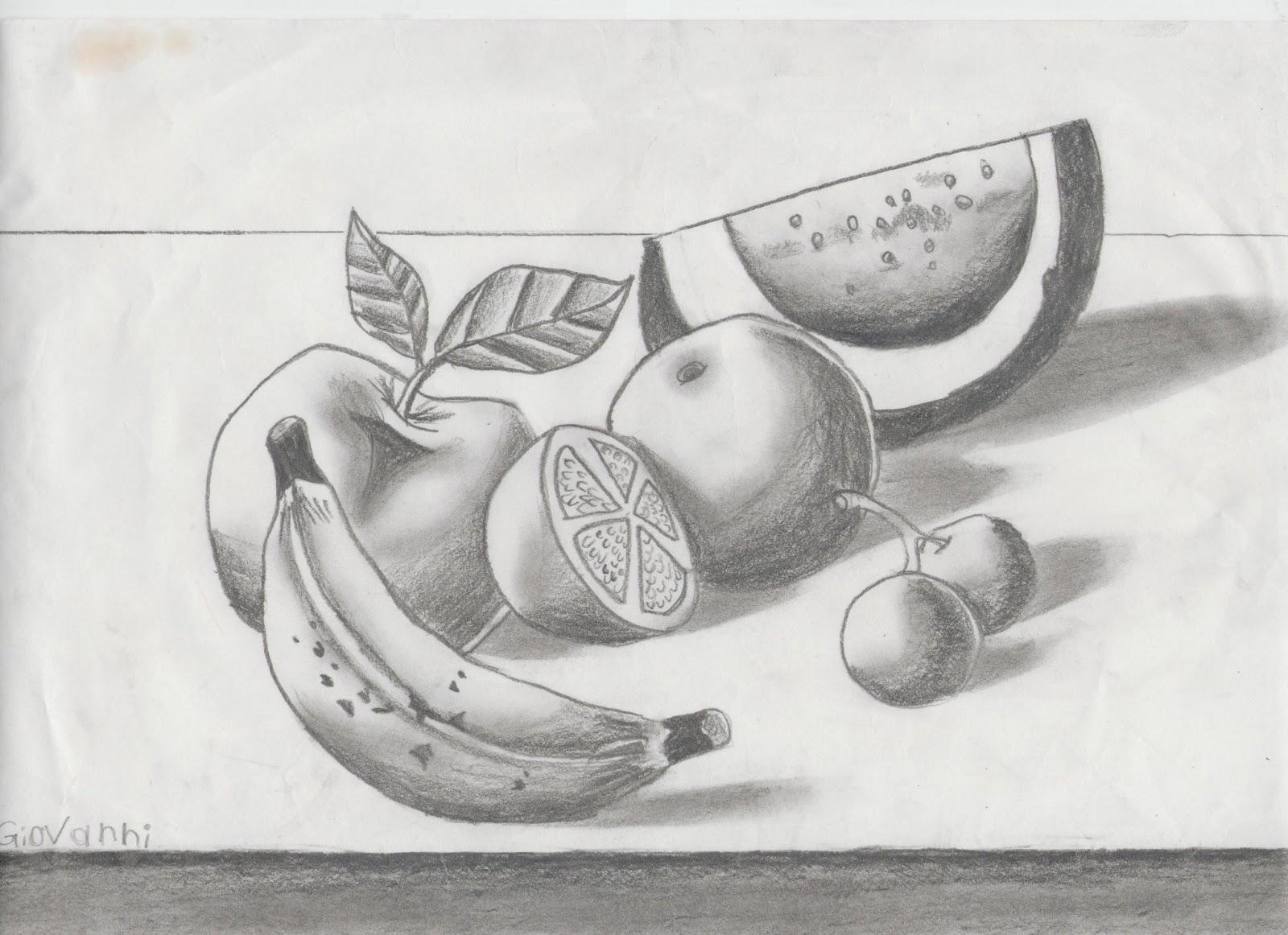 Dibujos Con Sombra De Frutas Imagui