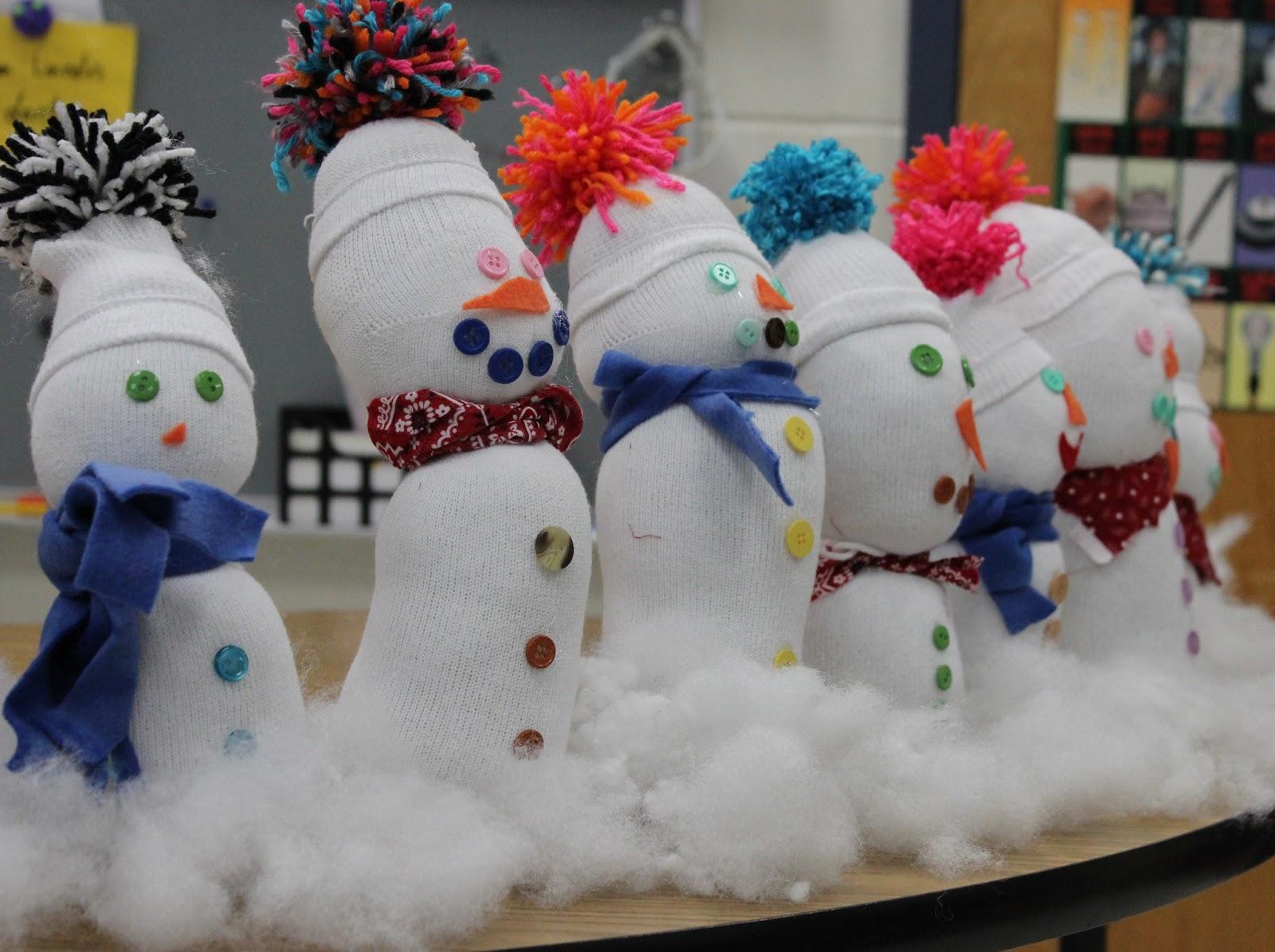 Kathy S First Grade Adventure Snow Bud S
