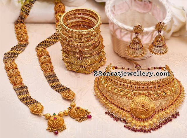 Antique Choker and Mangalsutra