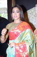 Shriya Saran Looks Stunning in Silk Saree at VRK Silk Showroom Launch Secundrabad ~  Exclusive 123.JPG