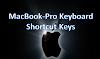 MacBook Pro Keyboard shortcut Keys || Hidden Keys