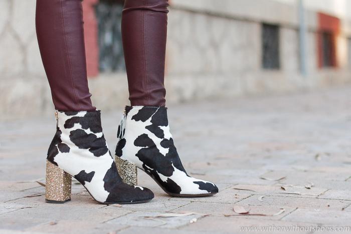 BLog influencer Adicta a los zapatos tendencias en calzado de la temporada a la que no te podrás resistir Los botines con estampado animal