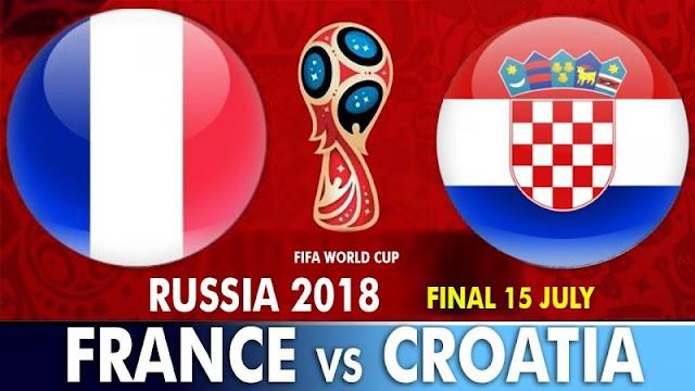 France vs Croatia Full Match Replay 15 July 2018