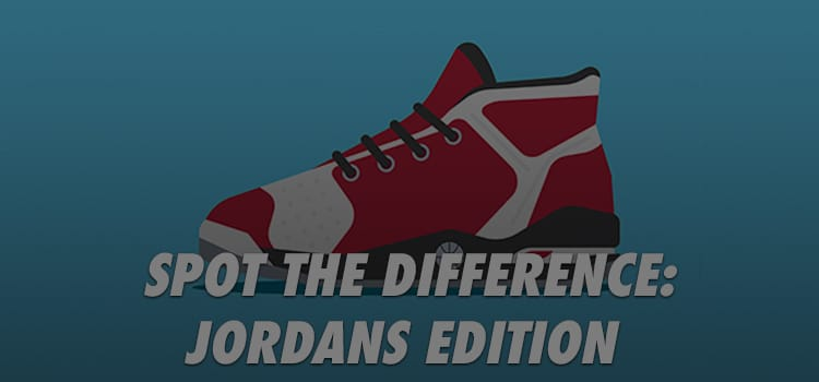 spot the difference jordans edition quiz answers 100% score