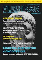 ЖУРНАЛ PUSHKAR №2 СЕНТЯБРЬ 2017