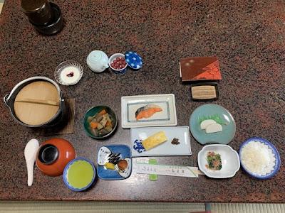 弘法湯の朝食