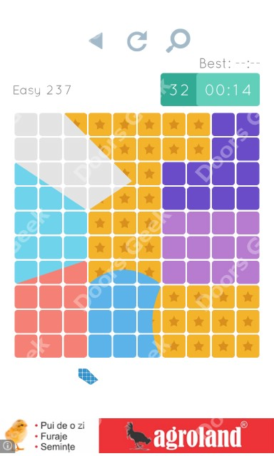 Cheats, Walkthrough for Blocks and Shapes Level 237