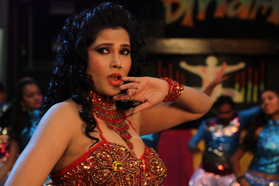Seema Singh Shoot Hot Item Song for Bam Bam Bol Raha Hai Kashi