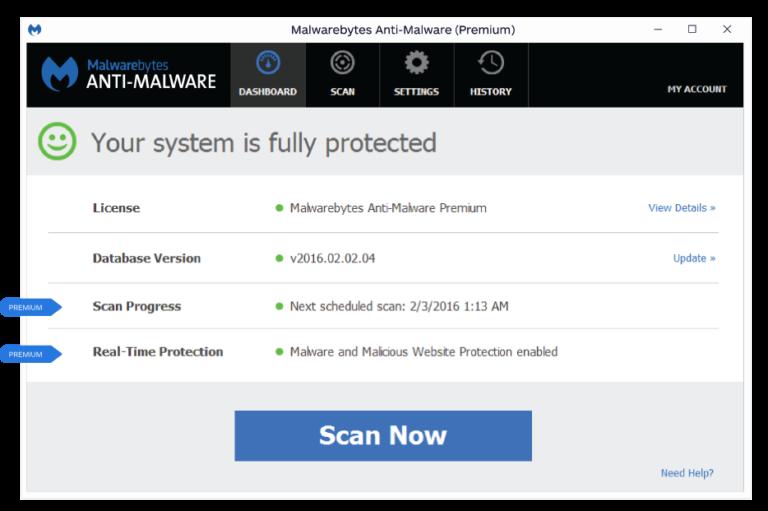 anti malware premium serial