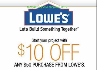 free Lowes Home Improvement coupons february 2017