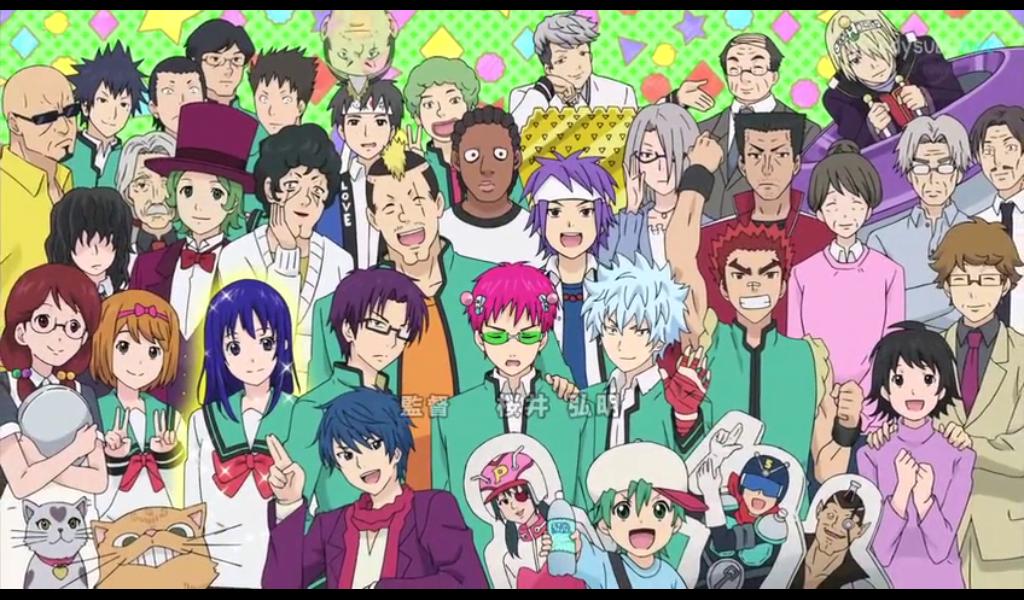 Review Anime Saiki Kusuo No Psi-nan | Kisah Pemuda Mengundang Tawa