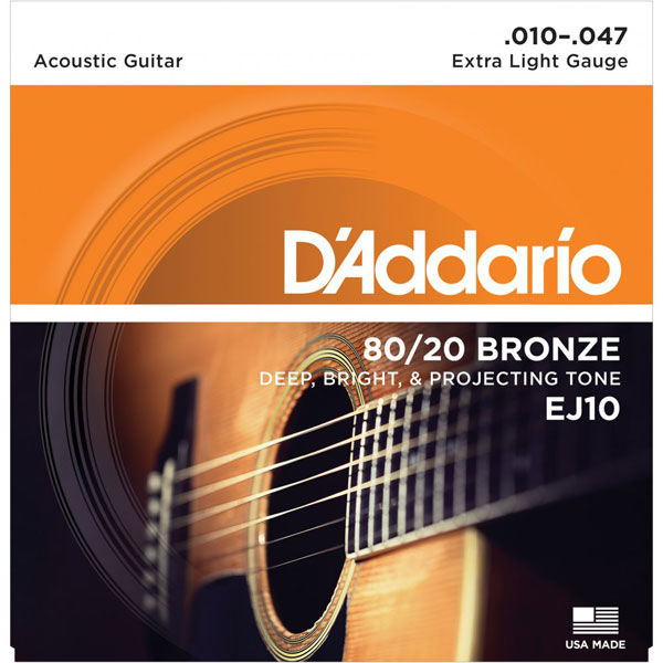 Dây đàn guitar D'addario EJ10