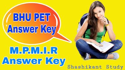 BHU-M.P.M.I.R-Answer-Key