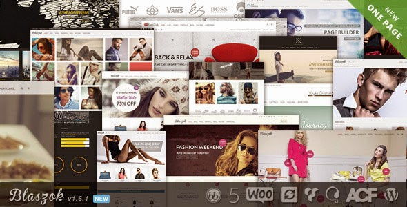 Blaszok v1.6.1 Ultimate Multi-Purpose Responsive Theme