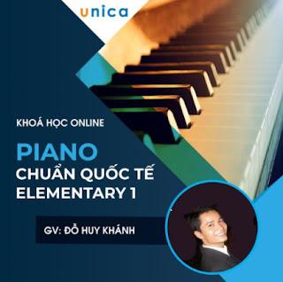 Khóa học PHONG CÁCH SỐNG- Piano chuẩn Quốc tế Elementary 1 UNICA.VN ebook PDF EPUB AWZ3 PRC MOBI