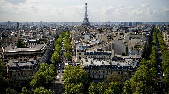 Punkt widokowy w Paryżu