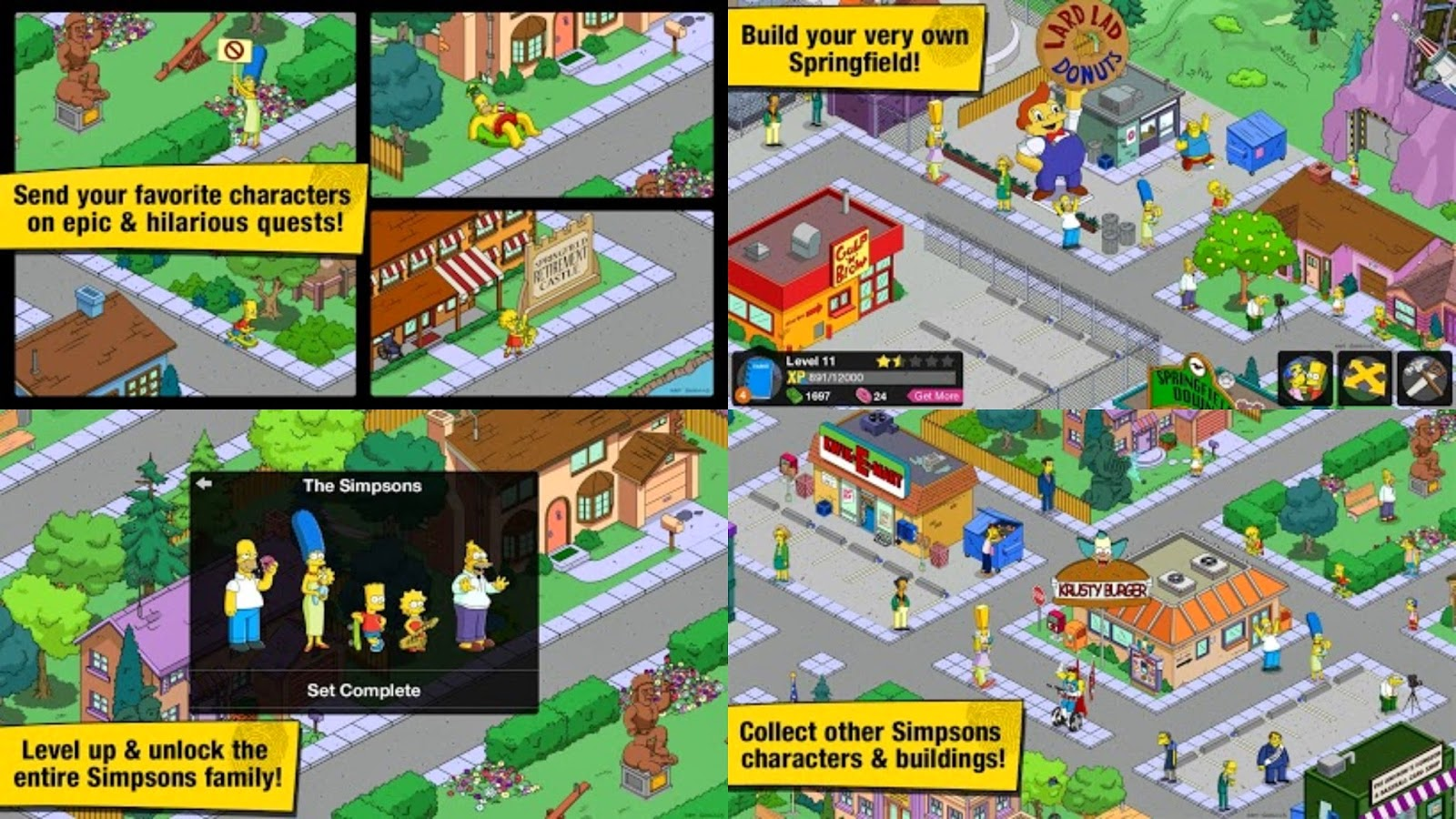 The Simpsons: Tapped Out Apk MOD Android