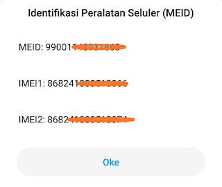 Cara blokir nomor IMEI handphone yang dicuri