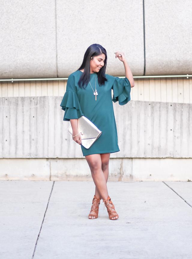 bell-sleeves-dress