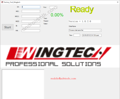 Factory Tool WingTech Latest V2.0.1 Download