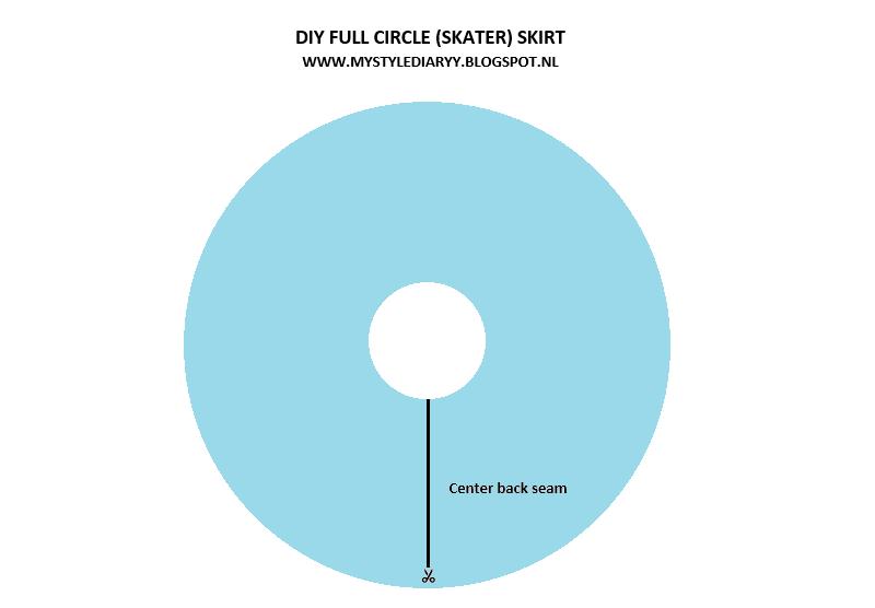 Diy Full Circle Skirt Pattern Mystylediaryy