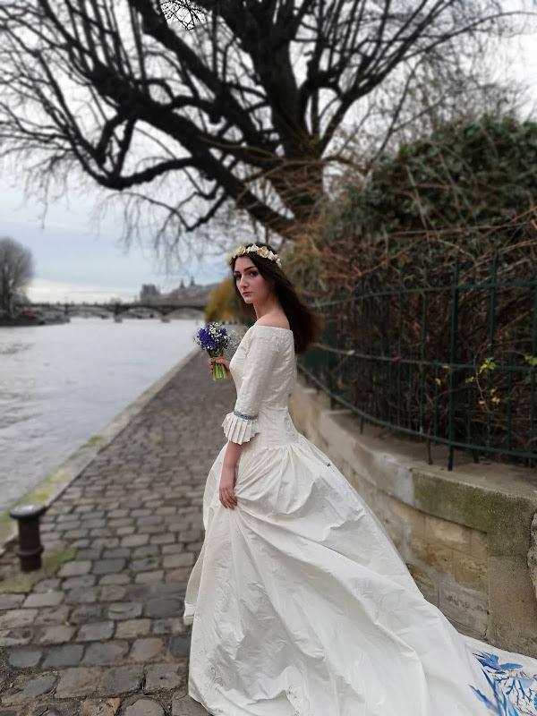Robe de mariée Océan